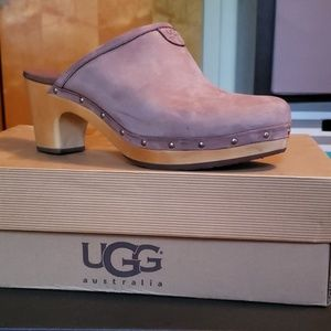 UGG women's clogs, 2 colors, fawn and tan
